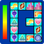Connect Abstract - casual game - icon