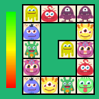 Connect Monsters - casual game - icon